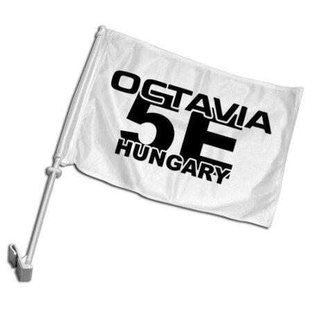Octavia 5E klub autós zászló